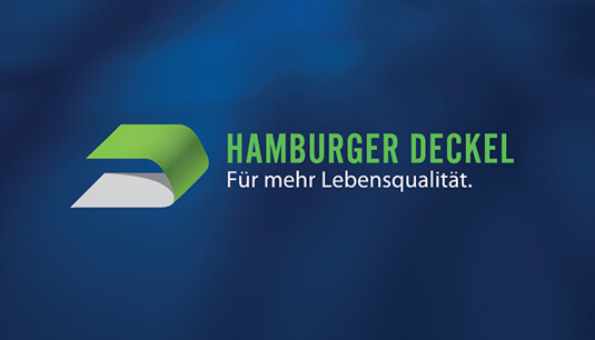 Hamburger Deckel logo design