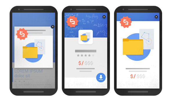 popup interstitial lightbox mobile Google penalty - SEO factors 2018