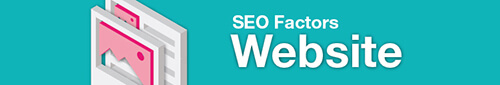 Google SEO factors - site level